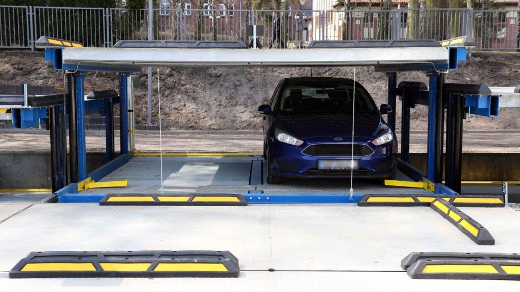 Platforma parkingowa Modulo Parker-O100