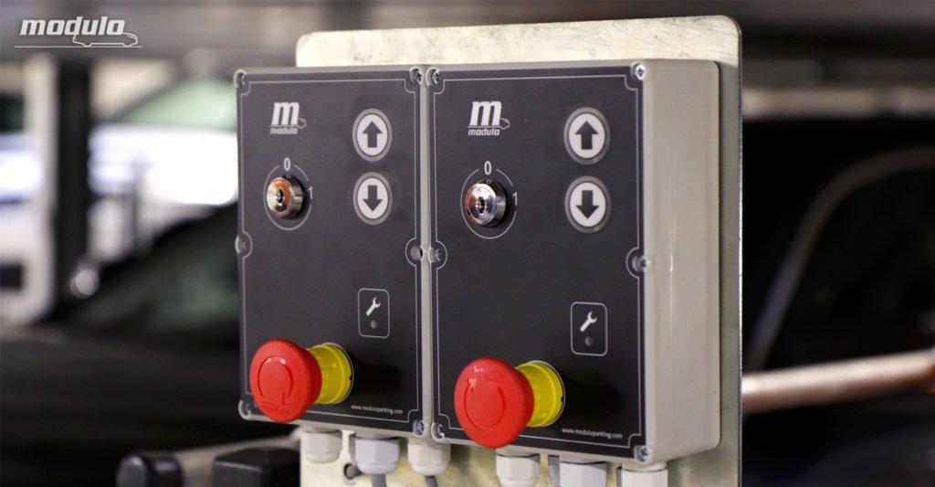Platformy parkingowe niezależne MODULO Parker-C100 – 20 miejsc parkingowych.