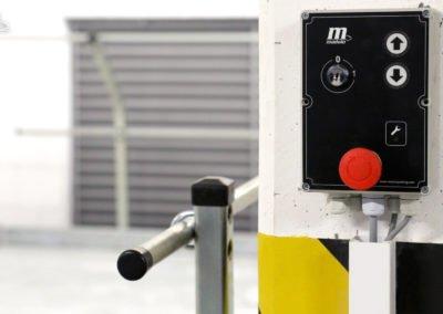 Parking platforms MODULO SLOPE and MODULO POLO in the underground garage - 30 parking spaces.