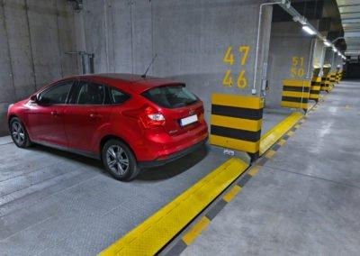Platformy parkingowe niezależne MODULO Parker-C100 - 66 miejsc parkingowych