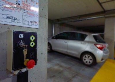 Platformy parkingowe niezależne Modulo Parker-S100– 16 miejsc parkingowych