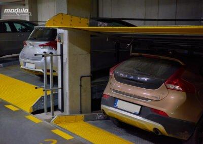 Platformy parkingowe niezależne Modulo Parker-S100