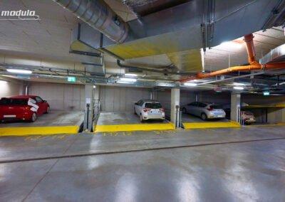 Platformy parkingowe niezależne Modulo Parker-S100 – 16 miejsc parkingowych