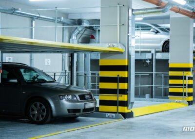 Platformy parkingowe niezależne MODULO Parker-C100 - 68 miejsc parkingowych