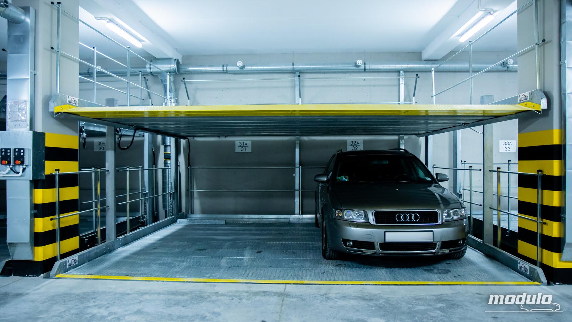 Platformy parkingowe niezależne MODULO Platforms - 68 miejsc parkingowych