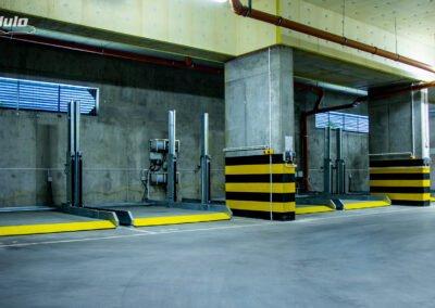Platformy parkingowe zależne MODULO Stacker-V10 - 20 miejsc parkingowych