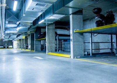 Platformy parkingowe niezależne MODULO Parker-C100 - 84 miejsca parkingowe
