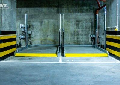 Platforma parkingowa zależna Modulo Stacker-V10 - 20 miejsc parkingowych