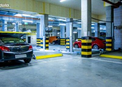 Platforma parkingowa zależna Modulo Stacker-V10
