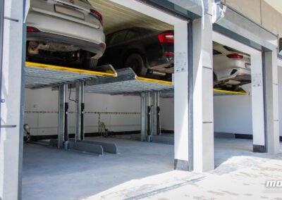 Platformy parkingowe zależne Modulo Stacker-P10