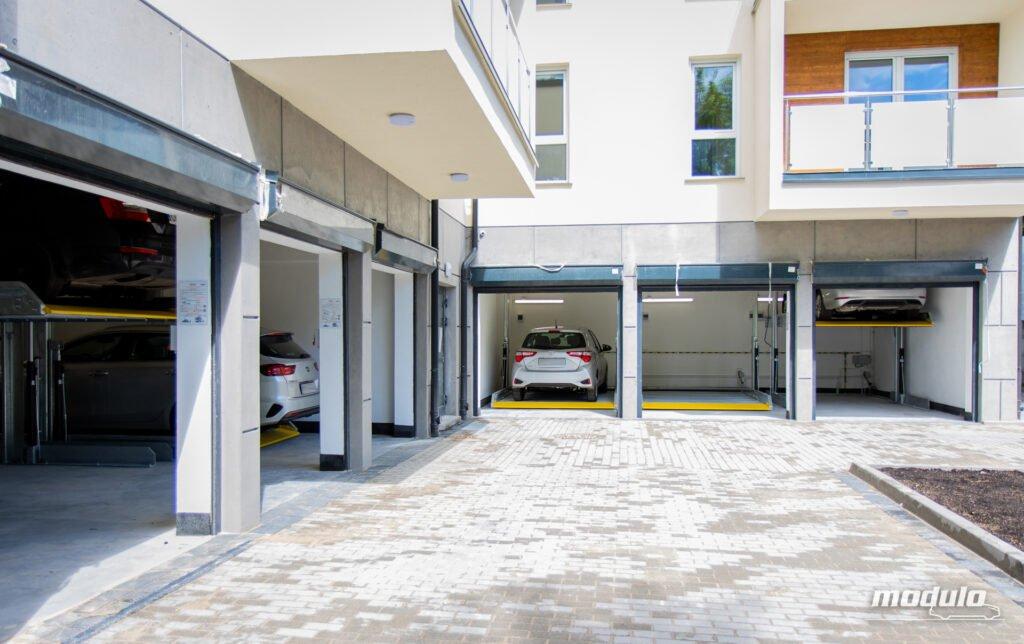 Platformy parkingowe zależne MODULO Polo