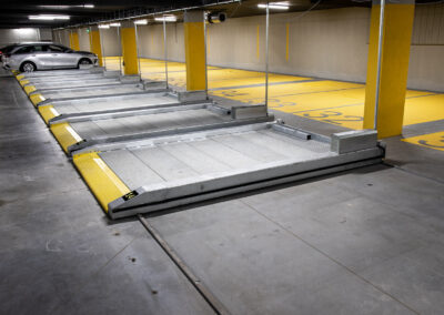Platformy parkingowe niezależne jednopoziomowe Modulo Pallet - 14 miejsc parkingowych