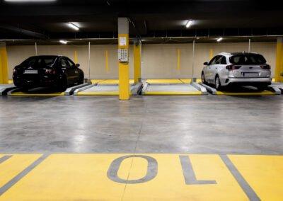 Platformy parkingowe przesuwne MODULO Pallet - 14 miejsc parkingowych