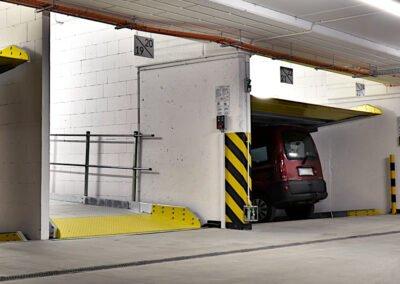 Platforma parkingowa Modulo Parker-S110