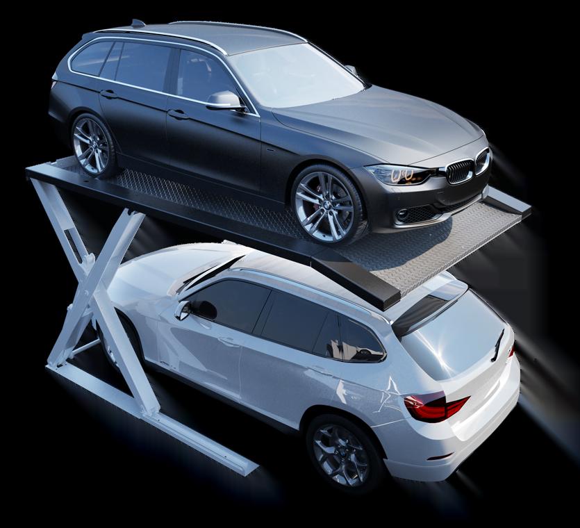 Parkplattform Modulo Stacker X10