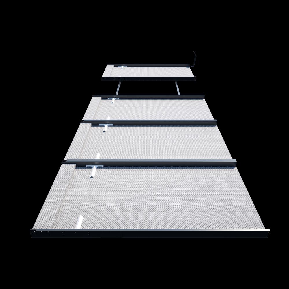 Platformy parkingowe niezależne jednopoziomowe Modulo Pallet