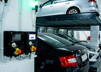Platformy parkingowe w systemie Modulo LS