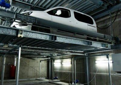 Multi-level parking platforms Modulo LSM
