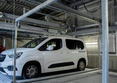 Platformy parkingowe wielopoziomowe Modulo LSM
