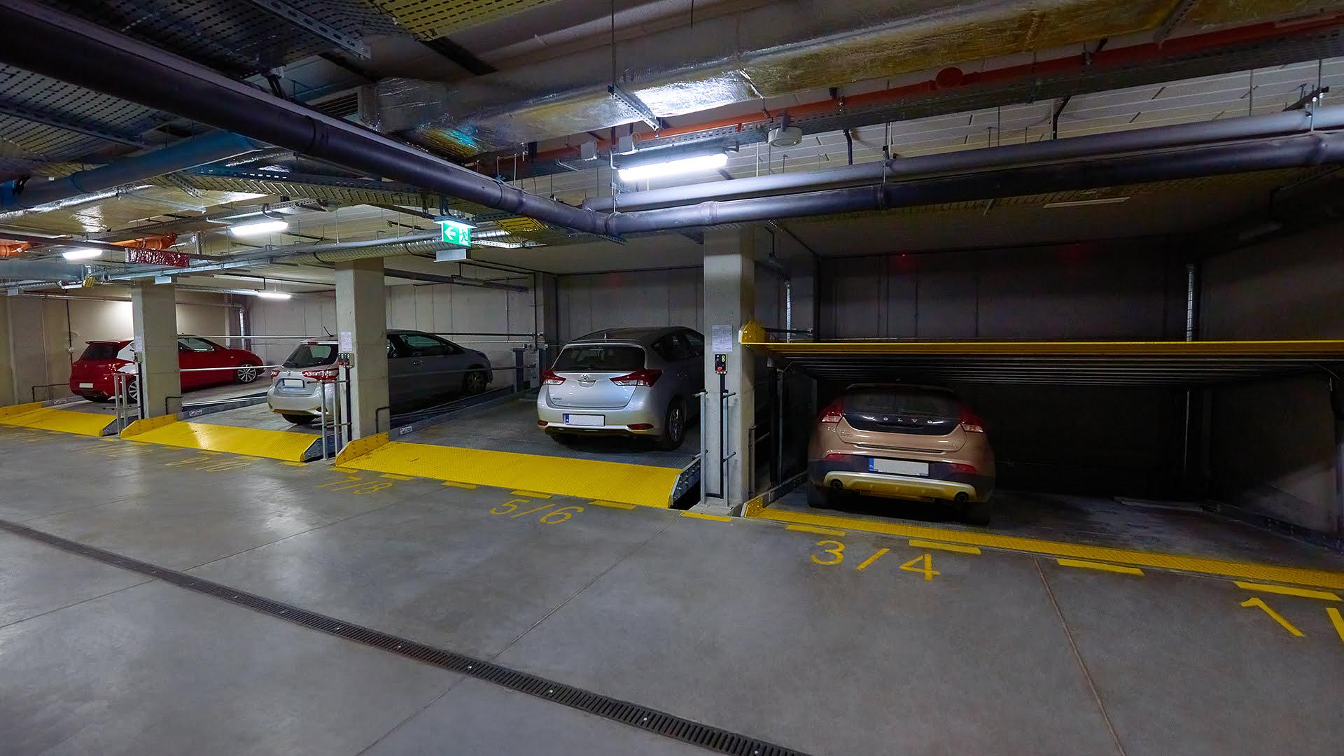 Platforma parkingowa Modulo Parker S100
