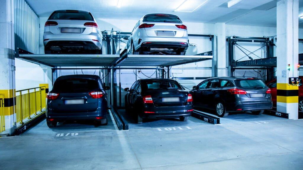 Plaformy parkingowe półautomatyczne Modulo LS
