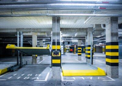 Platformy parkingowe zależne Modulo Parker v10 - 154 urządzenia