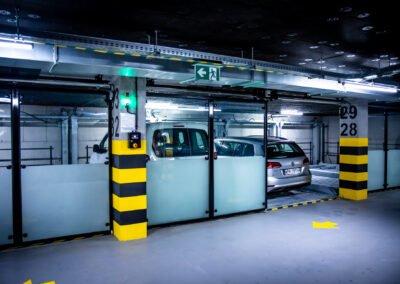 System półautomatyczny Modulo LS - 15 miejsc parkingowych