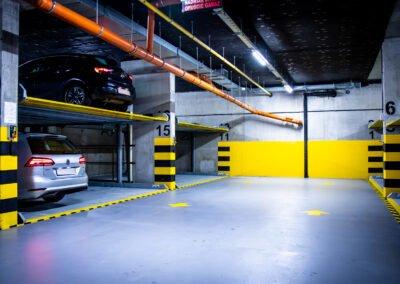 Platformy Modulo Parker C105 - 5 urządzeń/20 miejsc parkingowych